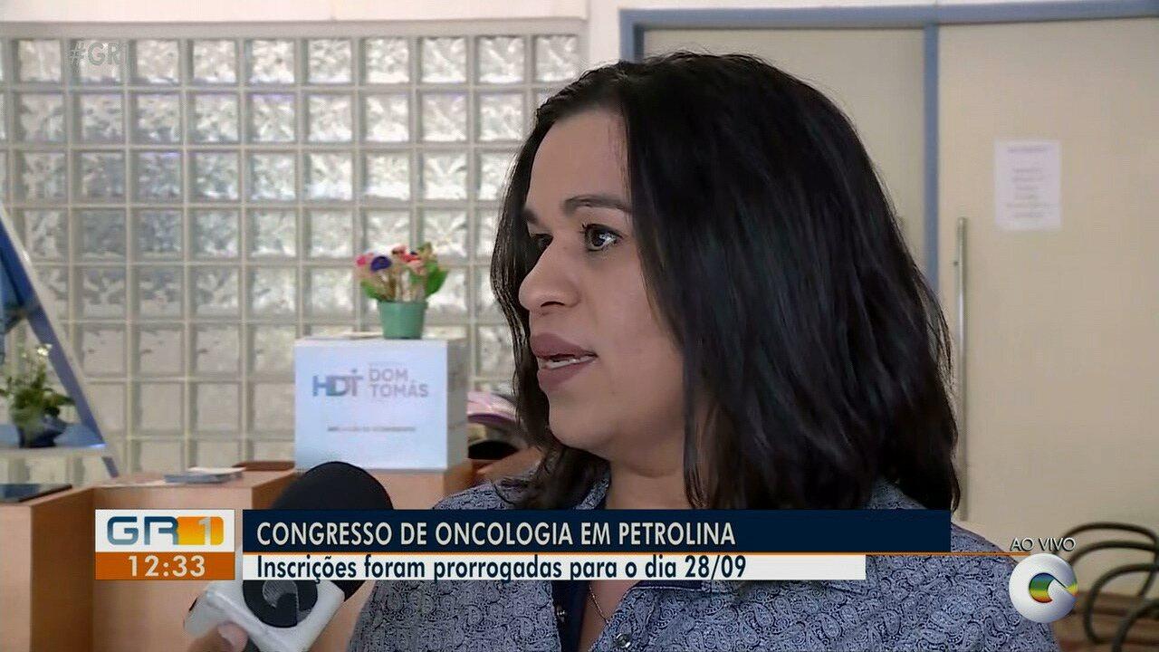 Congresso de Oncologia será realizado em Petrolina