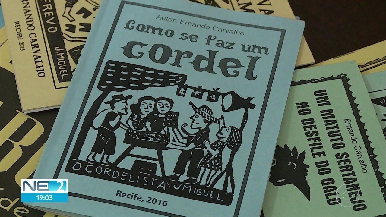Literatura de cordel é reconhecida como patrimônio cultural