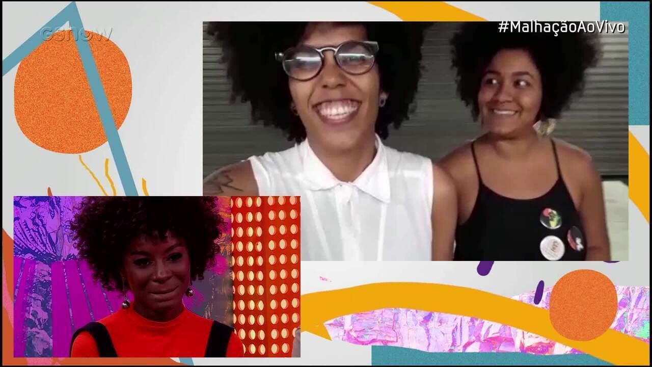 #MalhaçãoAoVivo: Jeniffer Dias se emociona com mensagem das amigas