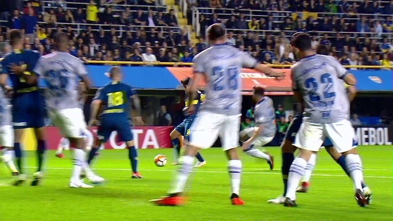 Melhores momentos de Boca Juniors 2 x 0 Cruzeiro pelas quartas de final da  Libertadores a51233f284120