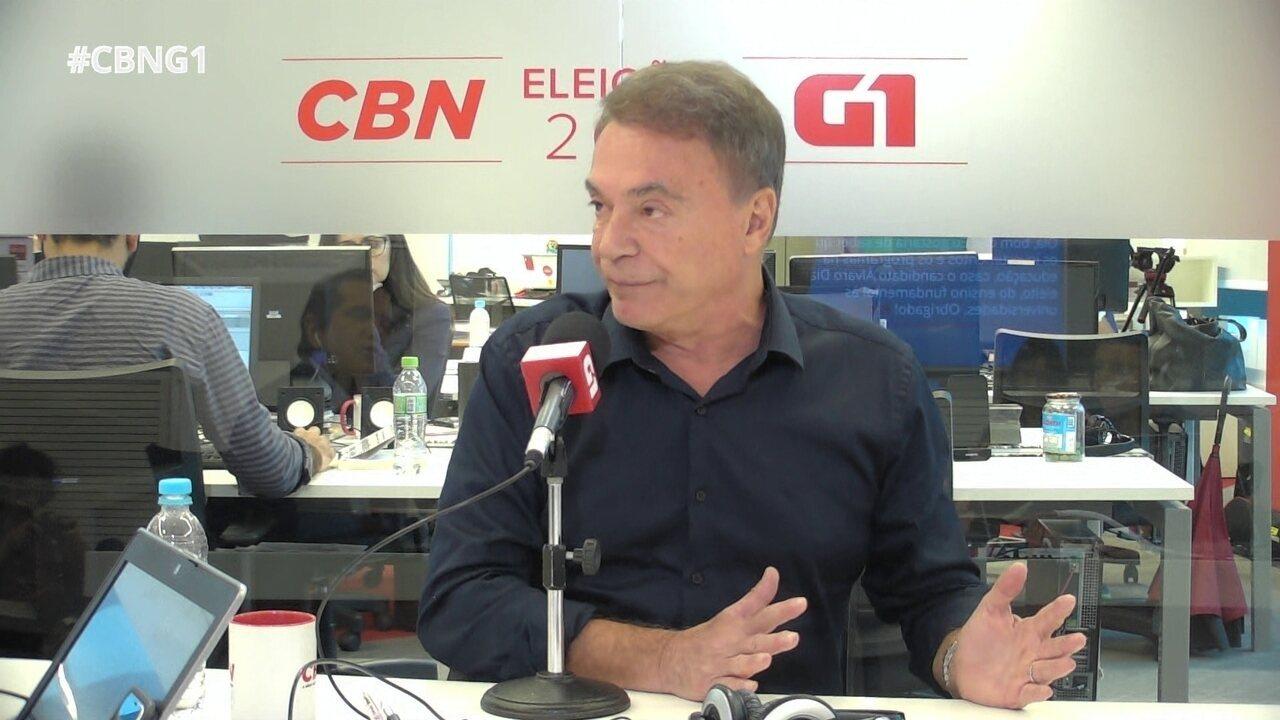 Alvaro Dias fala sobre presidenciáveis na mídia e voto útil