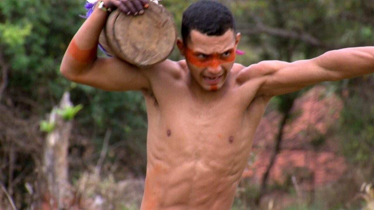 Jogos indígenas no Revista de Sábado!