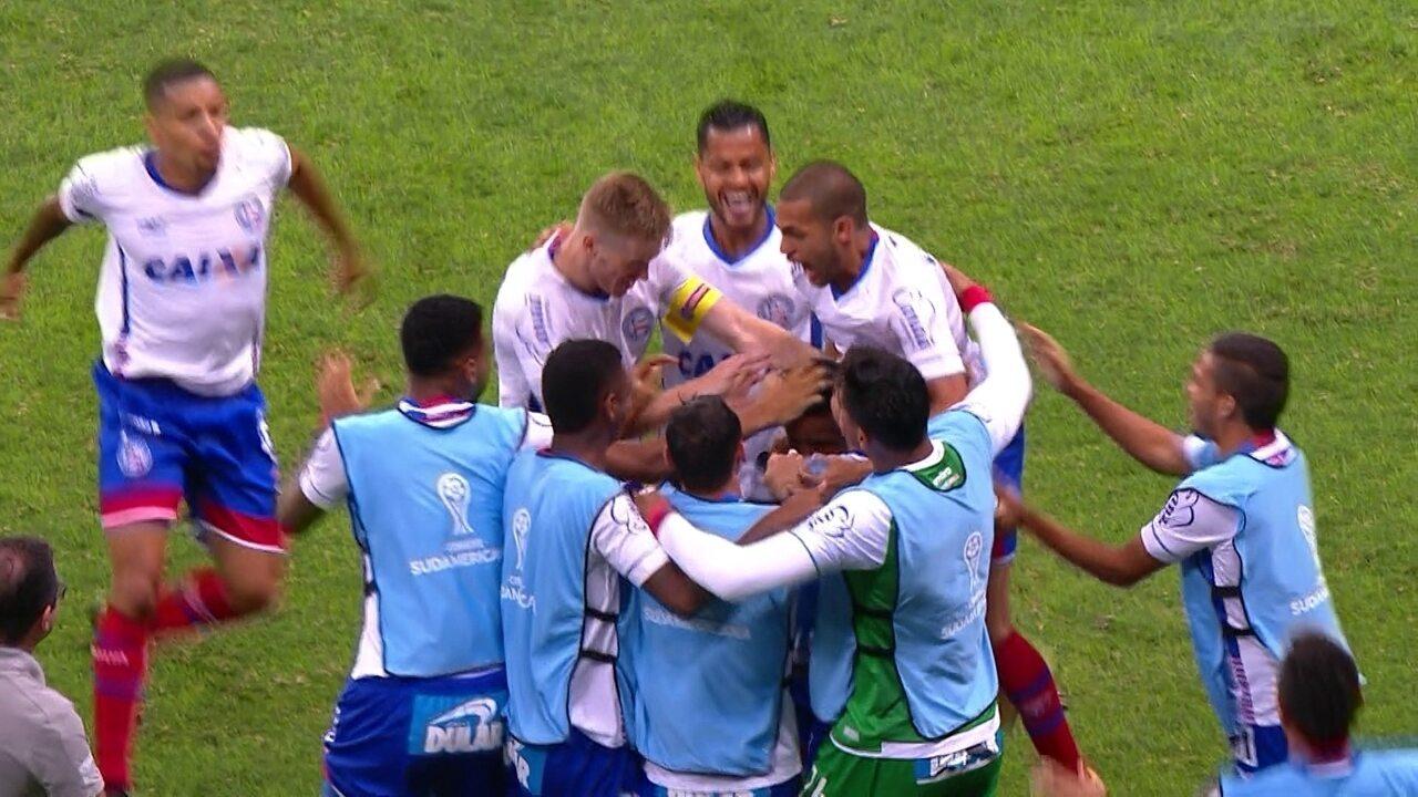 Melhores Momentos de Bahia 2 x 1 Botafogo pelas oitavas da Sul-Americana 27abd7b11e160