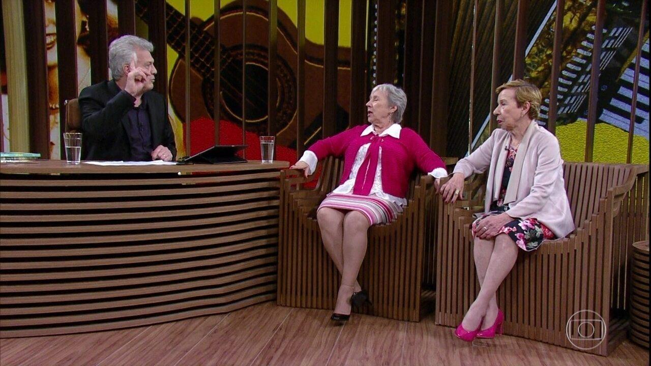 Meire e Marilene Galvão falam sobre mudança de nome da dupla