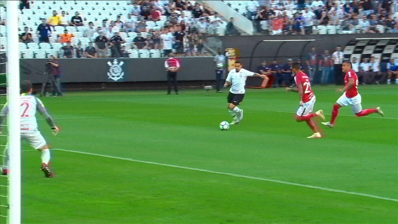 Melhores momentos de Corinthians 1 x 1 Internacional pela 26ª rodada do Brasileirão 2018
