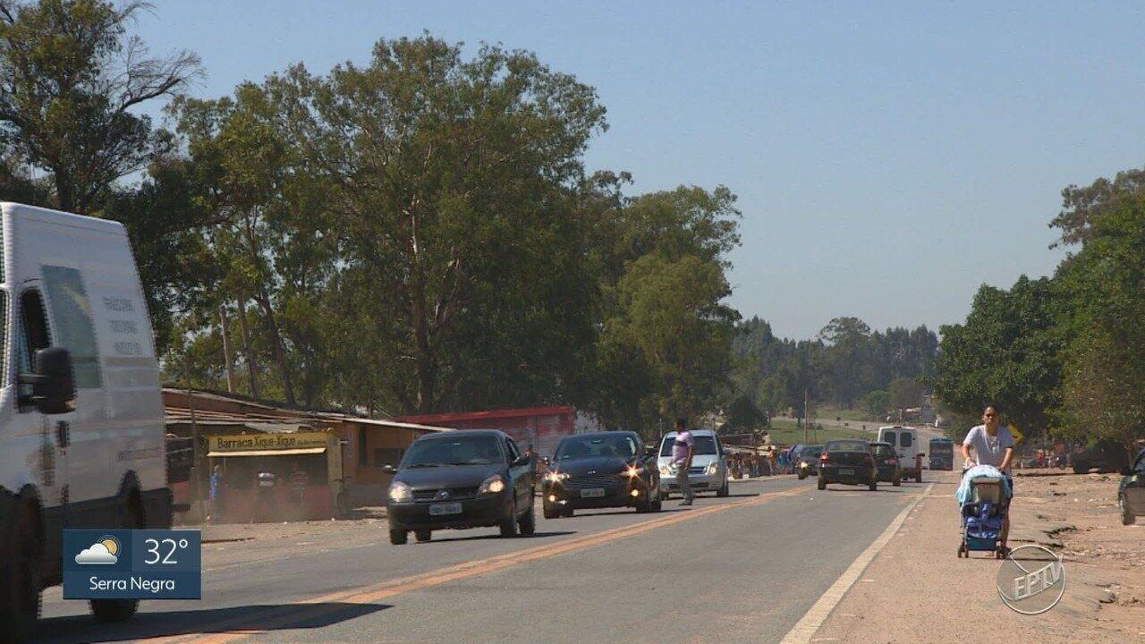 Falta de segurança e estrutura afeta motoristas e pedestres em rodovia de Campinas