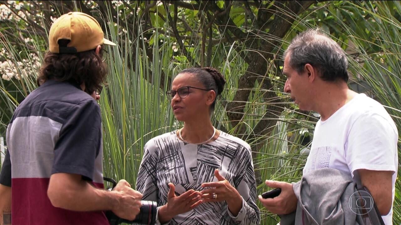 Candidata da Rede, Marina Silva, faz campanha em São Paulo