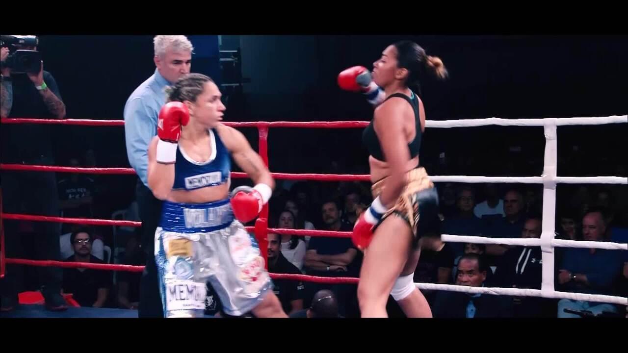 Chamada evento boxe - Rose Volante