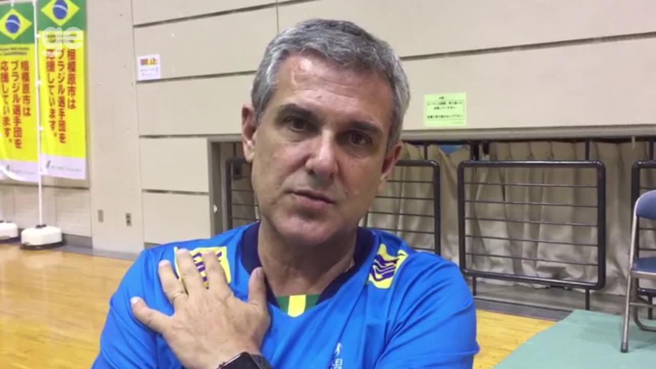Zé Roberto analisa Sérvia, rival do Brasil no Mundial