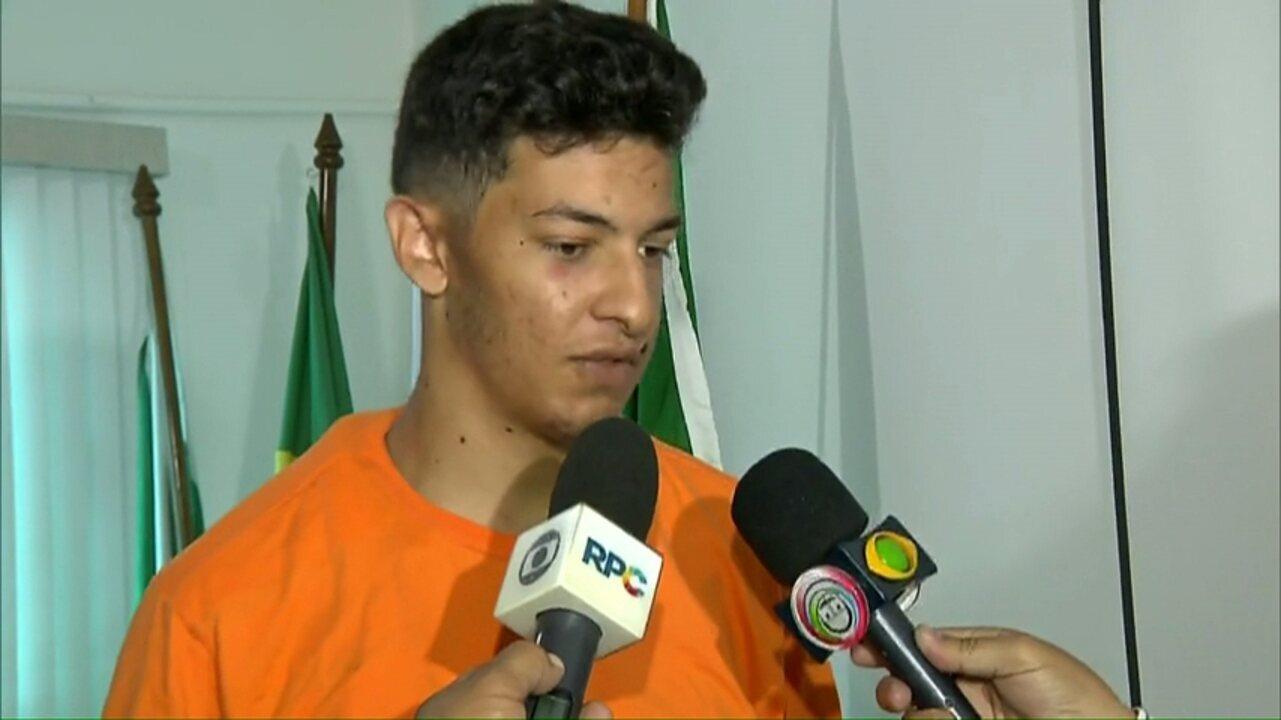 Suspeito de matar empresário em Londrina conta como ação ocorreu