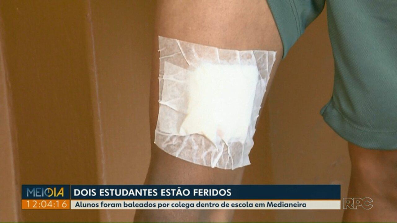 Dois estudantes ficam feridos durante atentado em colégio de Medianeira