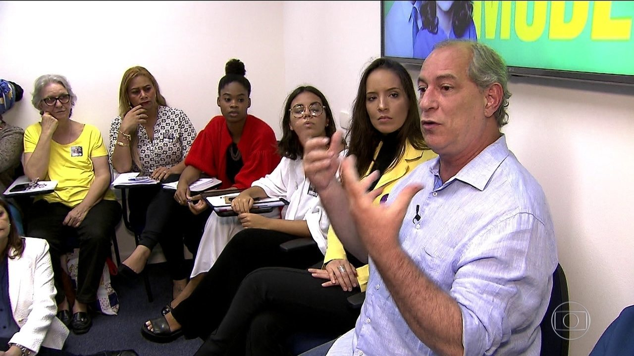Candidato do PDT, Ciro Gomes, fez campanha em São Paulo