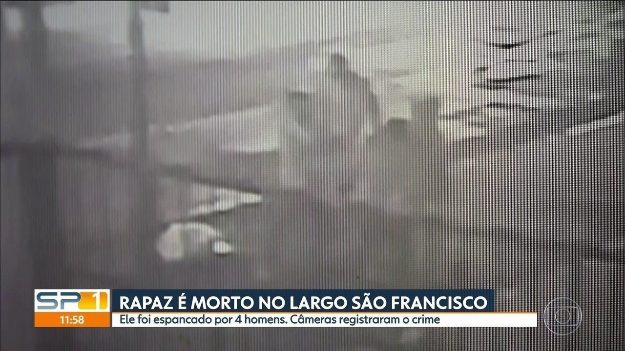 Rapaz é morto no Largo São Francisco