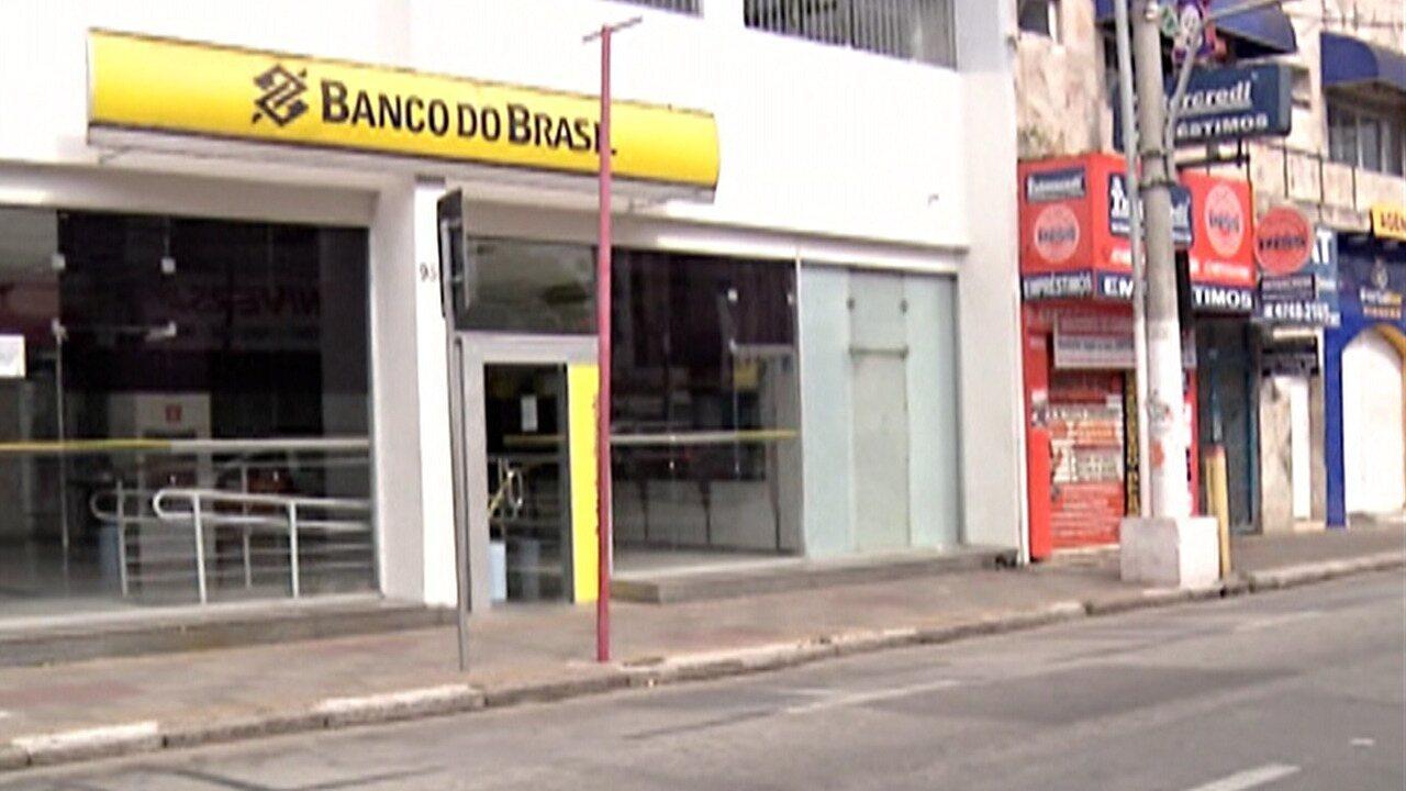 Banco em Suzano sofre tentativa de furto