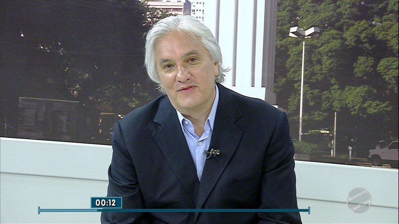 Confira a entrevista do candidato ao Senado por MS, Delcídio do Amaral