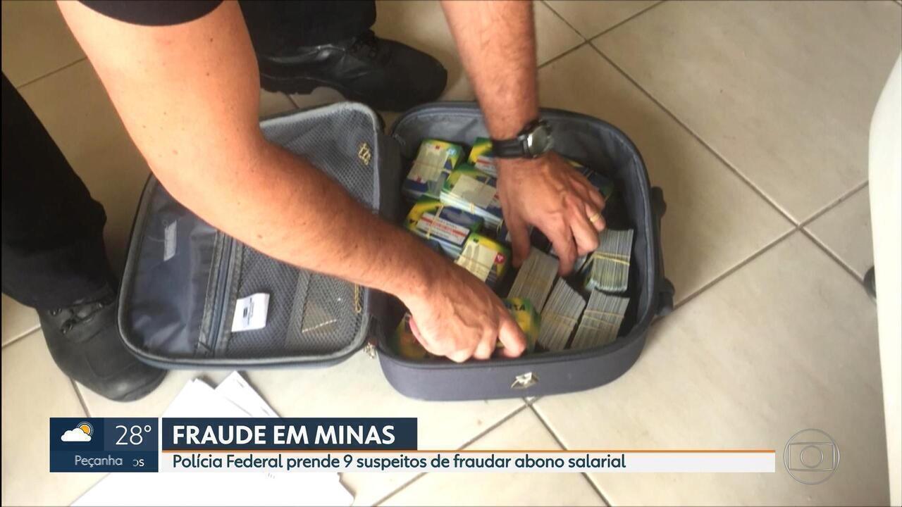 Polícia Federal cumpre mandados contra suspeitos de fraudar PIS em MG