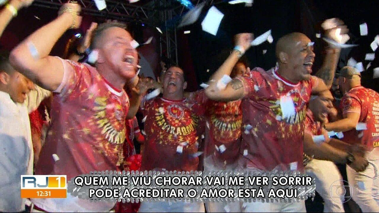 Viradouro escolhe o samba que vai levar para avenida ano que vem