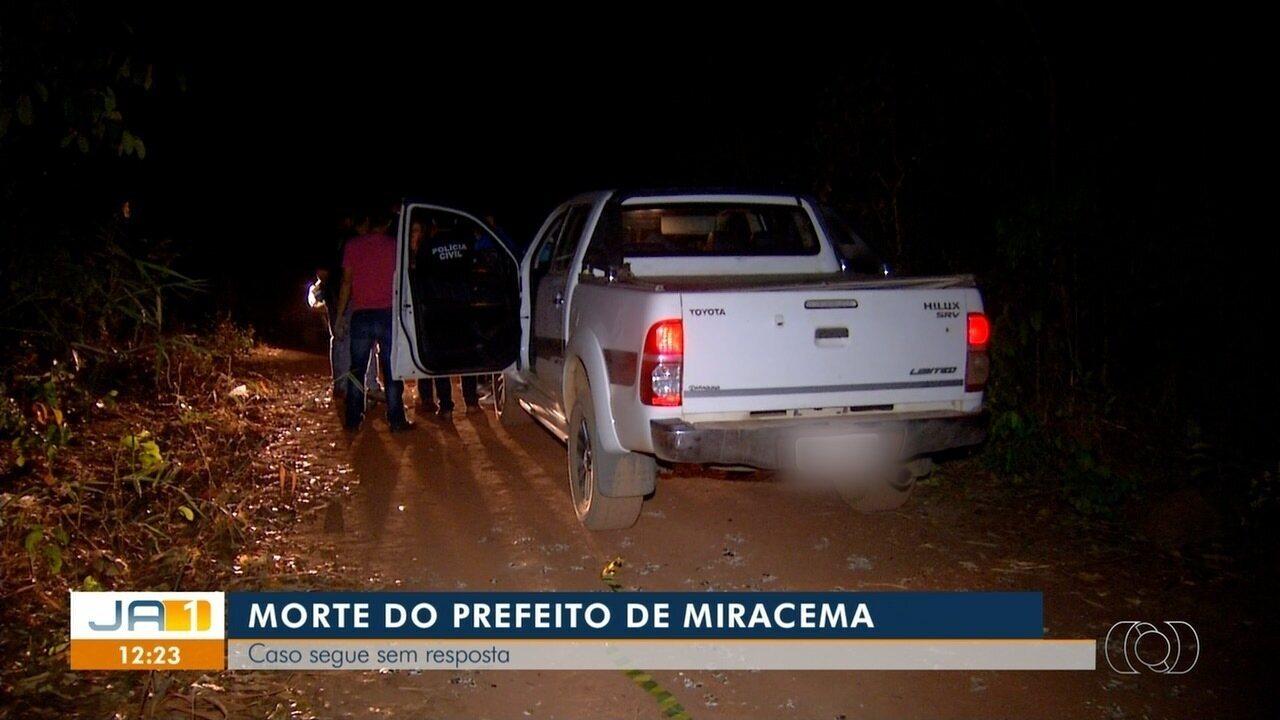 Caso do assassinato de prefeito de Miracema continua sem respostas