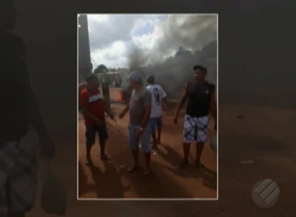 Moradores de rua em Marituba denunciam falta de pavimentação