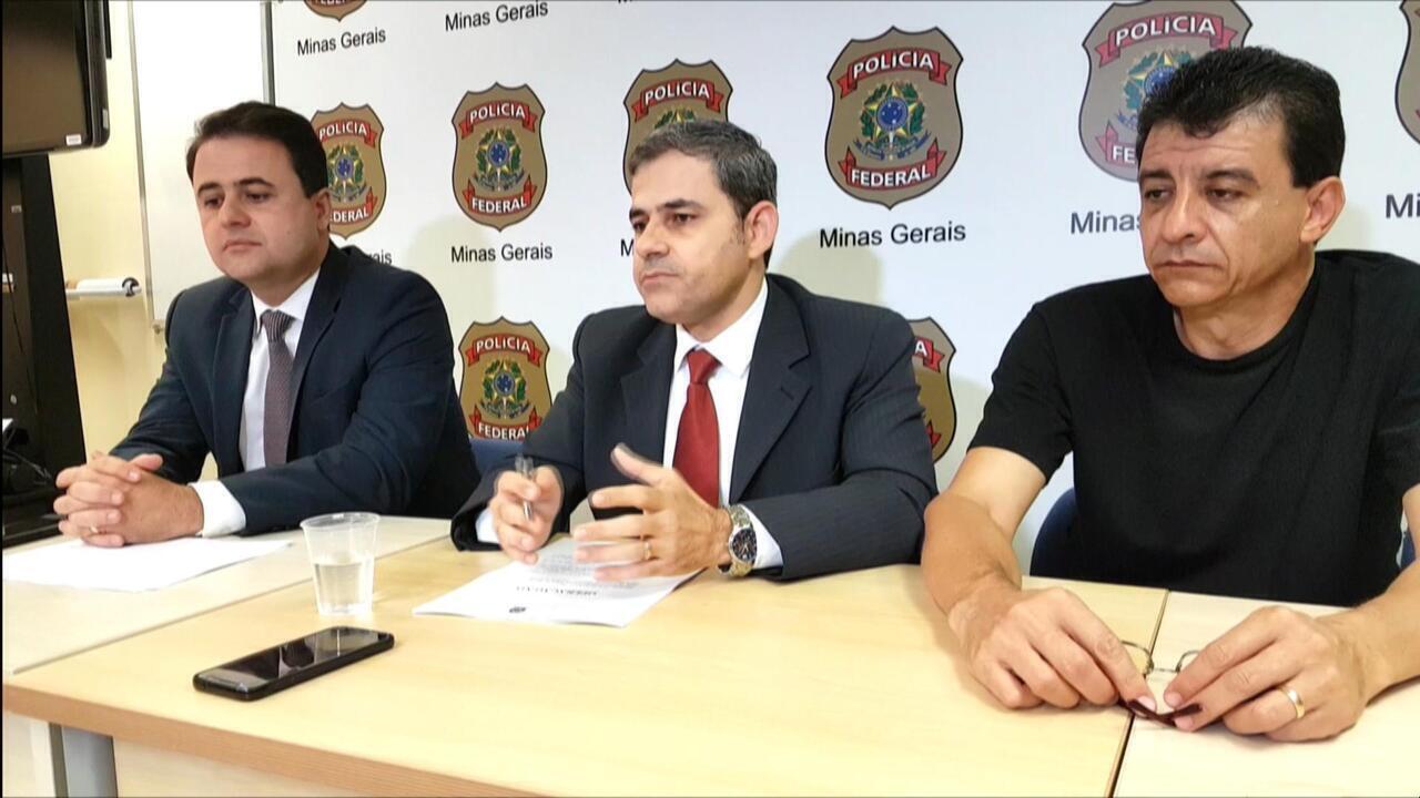 Delegado Gilvan de Paula, da PF, explica fraude no PIS em Minas Gerais