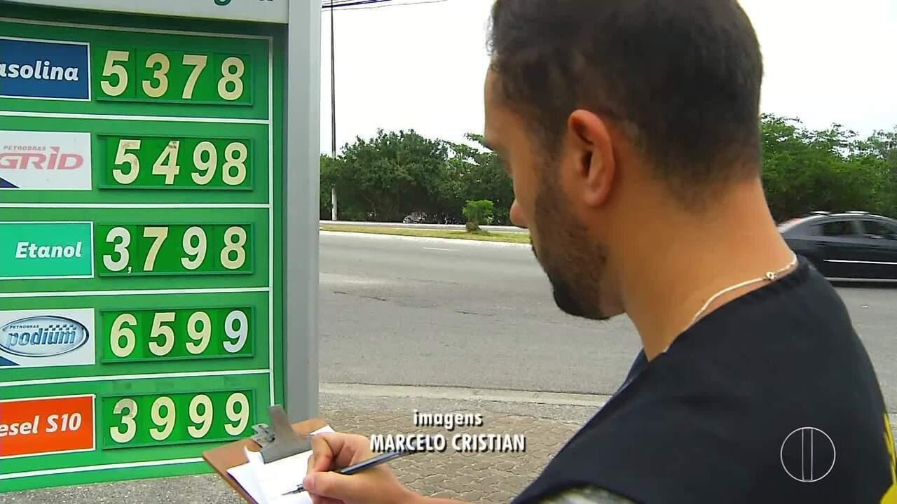 Procon realiza 2ª etapa de operação para fiscalizar postos de combustíveis em Cabo Frio