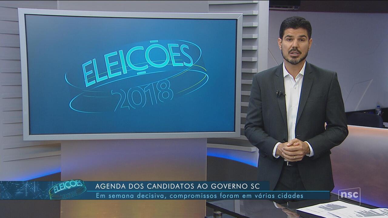 Confira a agenda dos candidatos Décio Lima e Gelson Merisio
