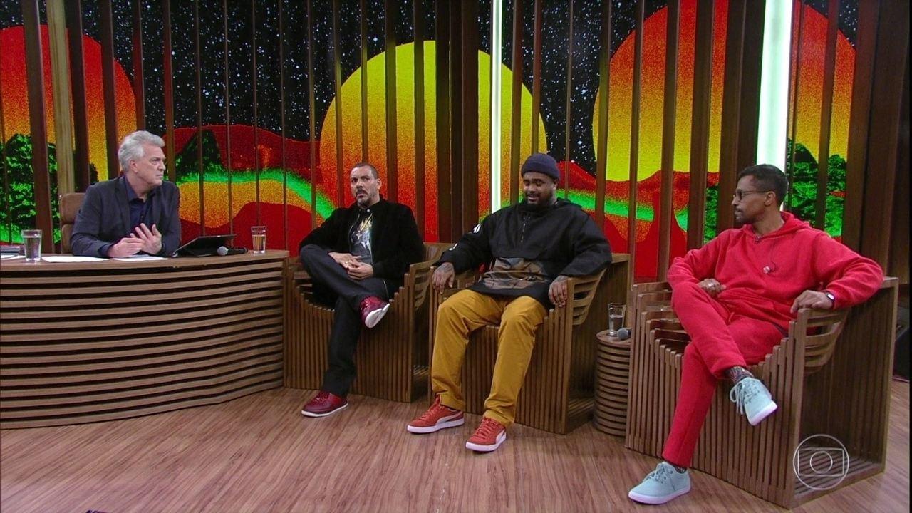 Dexter, Baco Exu do Blues e Black Alien respondem se dá para ensinar alguém a fazer rap