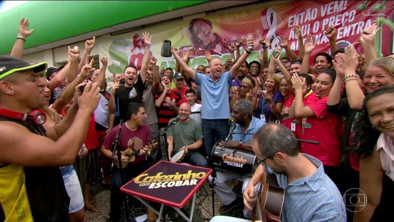 Cafezinho com Escobar analisa os resultados dos times cariocas na rodada do Brasileiro