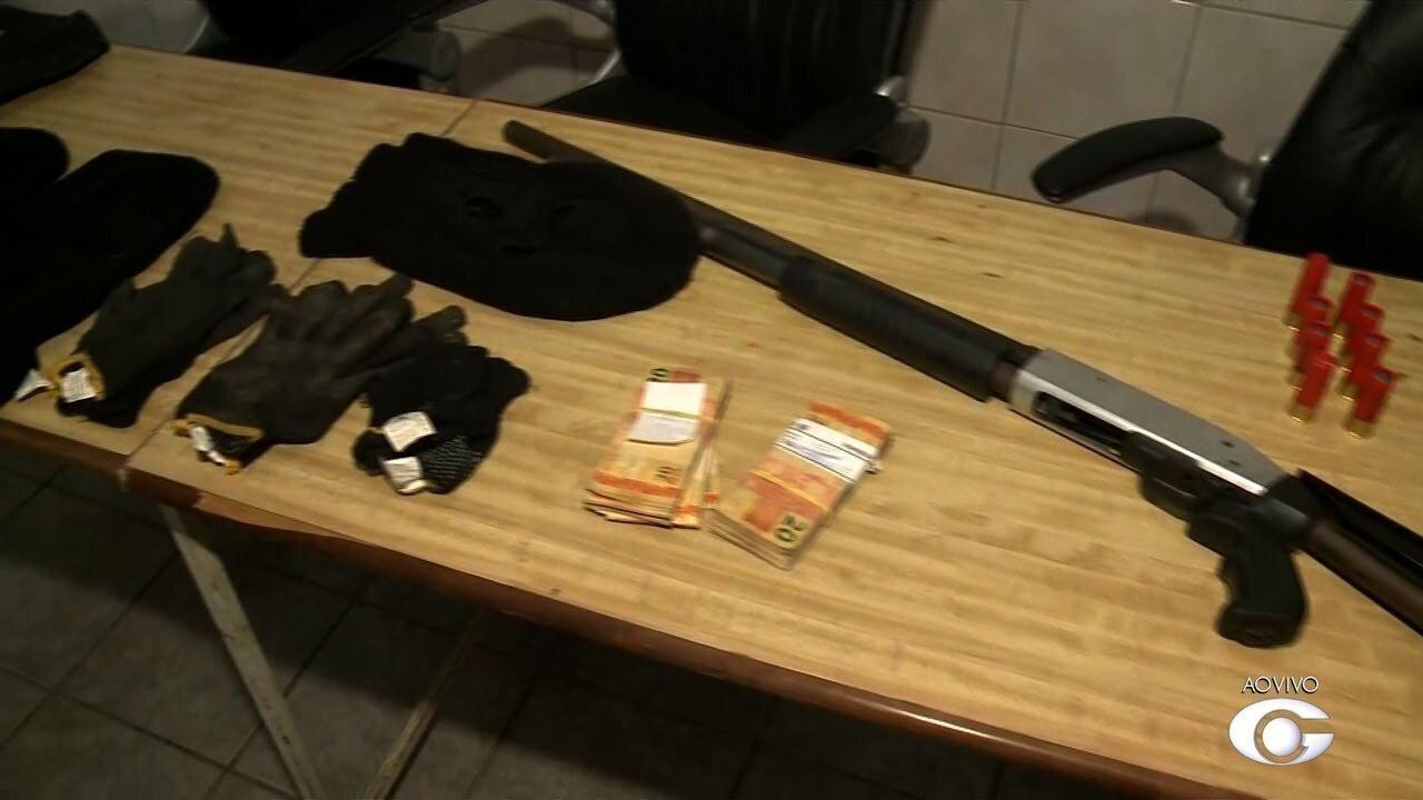 Suspeito de envolvimento no assalto a banco em Igreja Nova é preso
