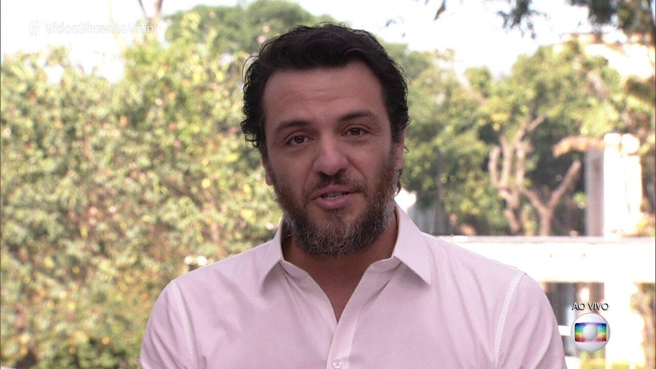 Rodrigo Lombardi revisita carreira no 'Meu Vídeo é um Show'