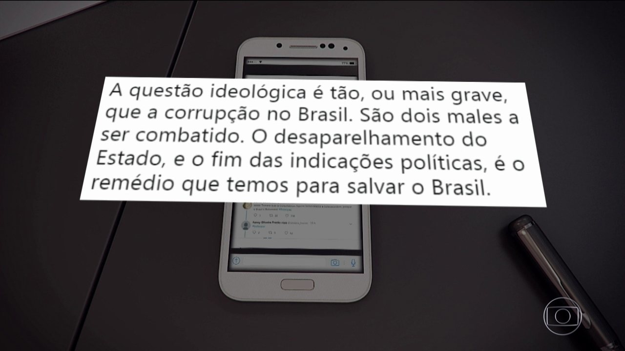 Candidato do PSL, Jair Bolsonaro, passou o dia no Rio de Janeiro