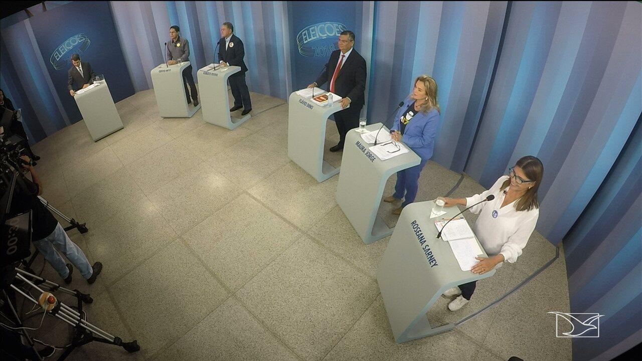 Primeiro bloco - Debate para governador do Maranhão