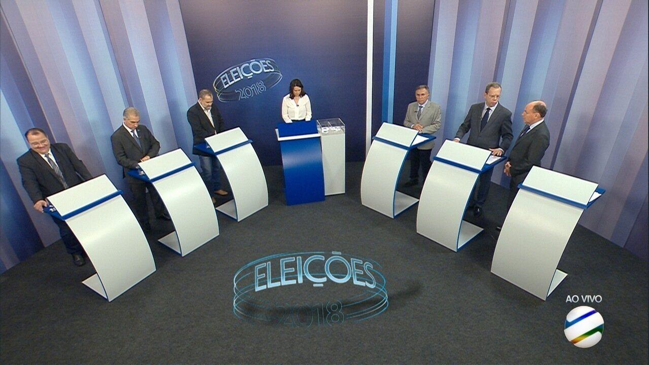 Debate para governador de Mato Grosso do Sul – 2º bloco