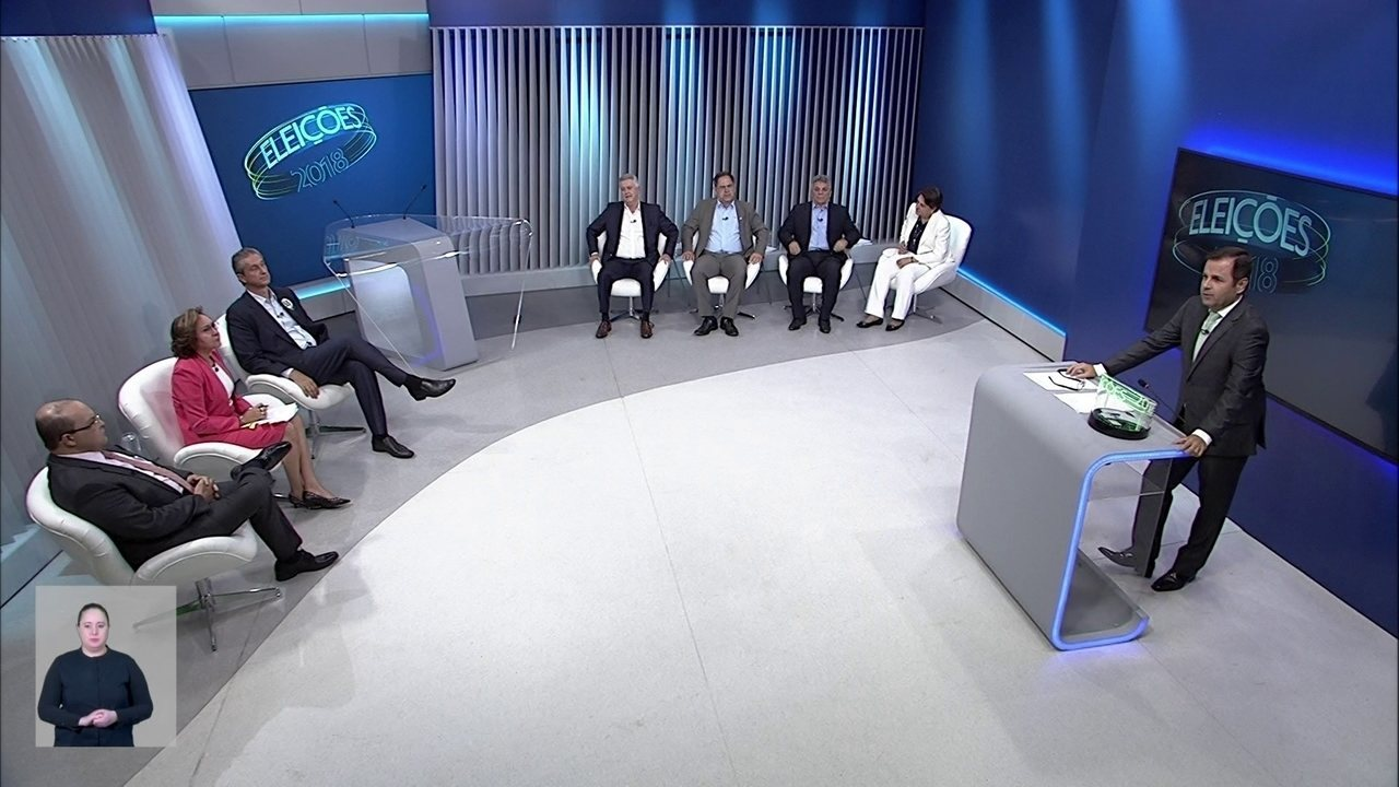 Debate dos candidatos ao governo do DF - Bloco 4