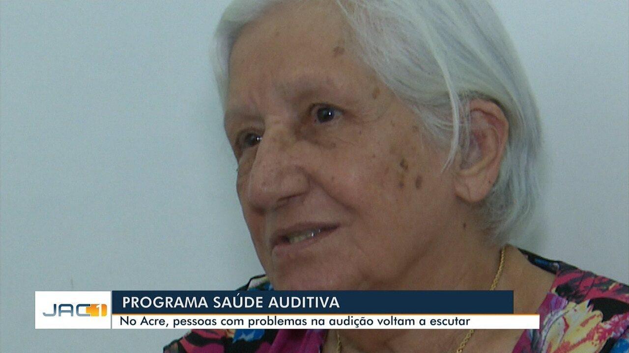 Resultado de imagem para No AC, programa ajuda pacientes com problemas auditivos