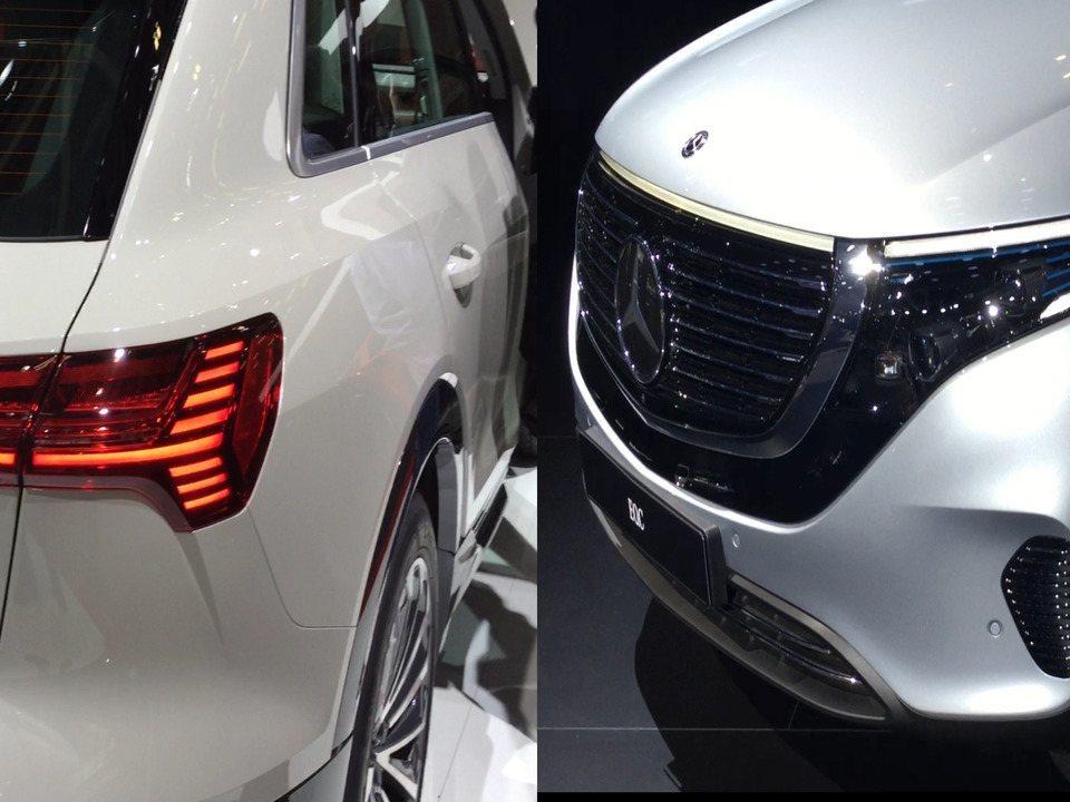 Audi e Mercedes entram na briga dos SUVs elétricos