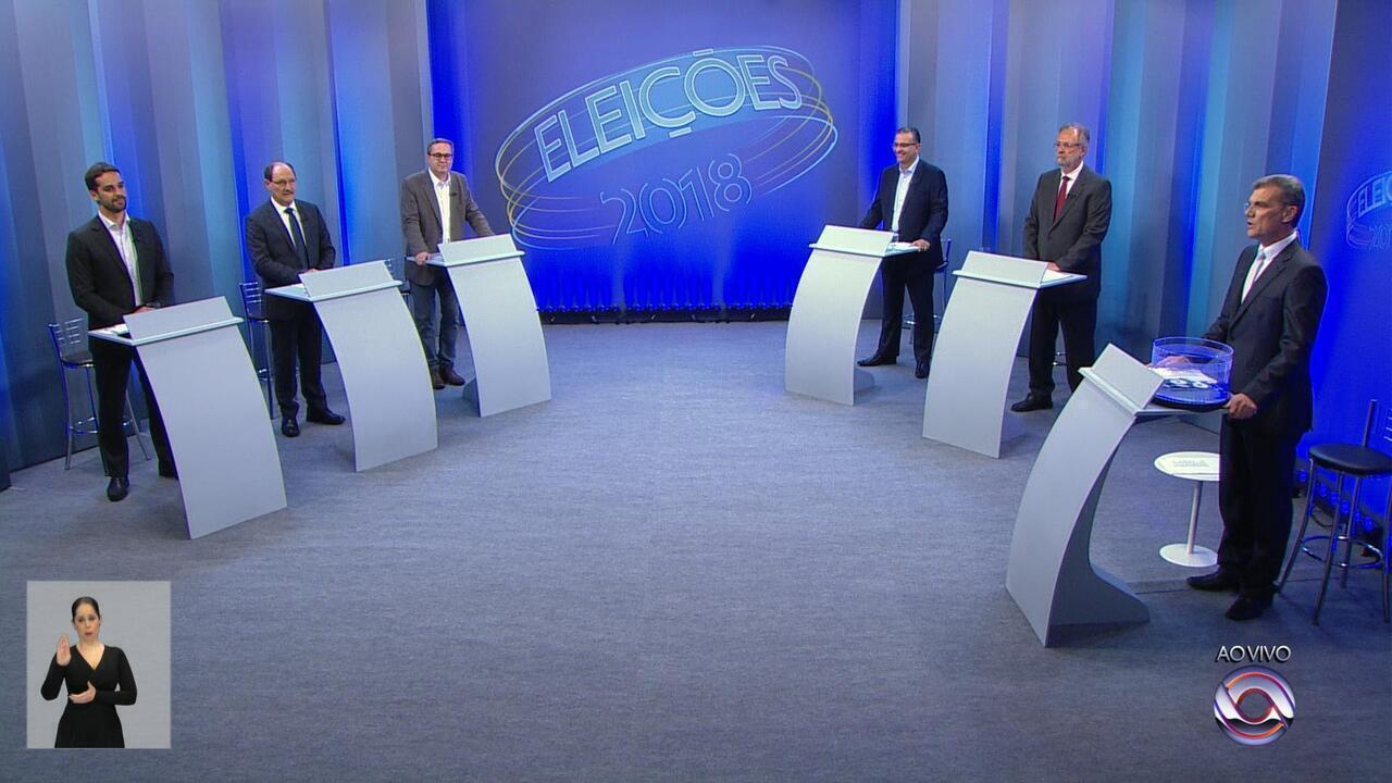 Reveja o primeiro bloco do debate entre os candidatos ao governo do Rio  Grande do Sul 17b509efa8