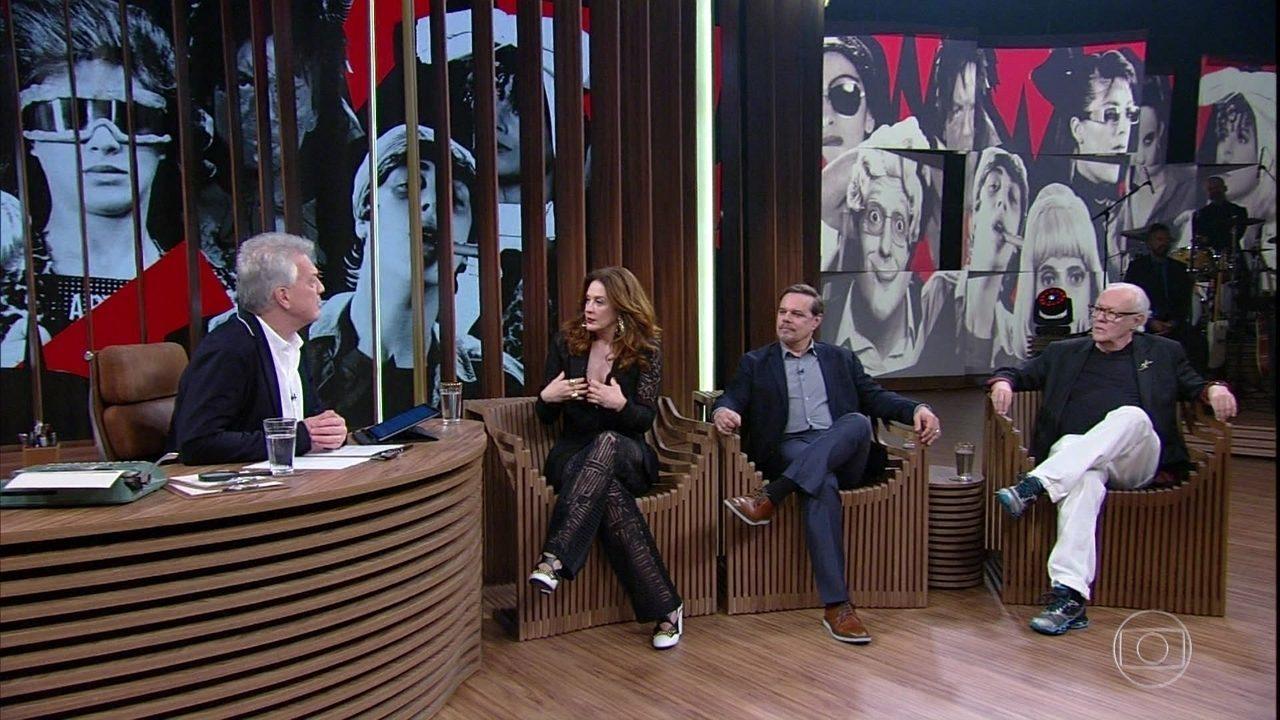 """Claudia Raia revela que ela e Ney Latorraca foram """"barrados"""" na escalação para o TV Pirata"""
