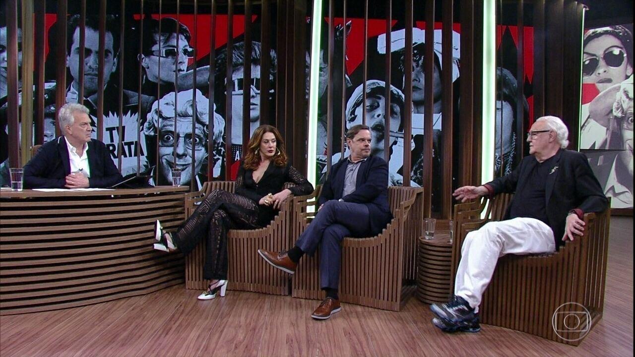 Diogo, Claudia e Ney falam sobre as mudanças no humor desde o TV Pirata até hoje