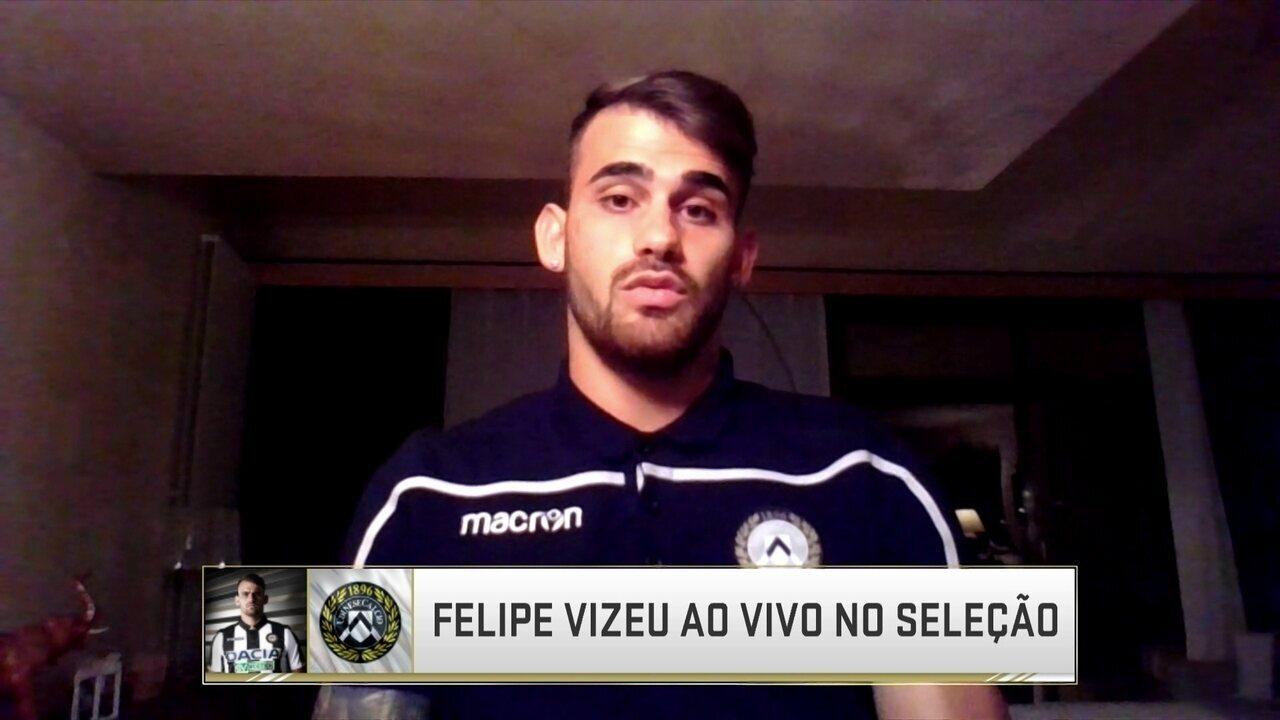Felipe Vizeu fala sobre adaptação na Itália e início de trajetória na Udinese