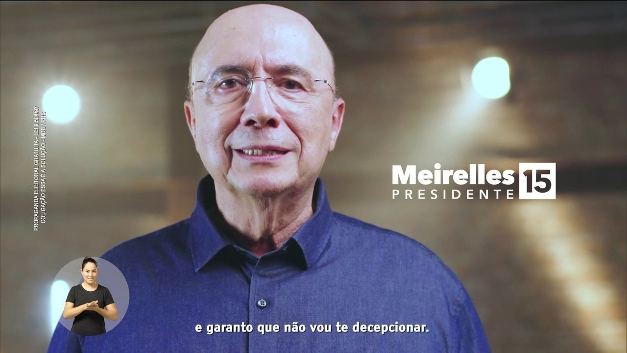 Veja último horário eleitoral do candidato Henrique Meirelles