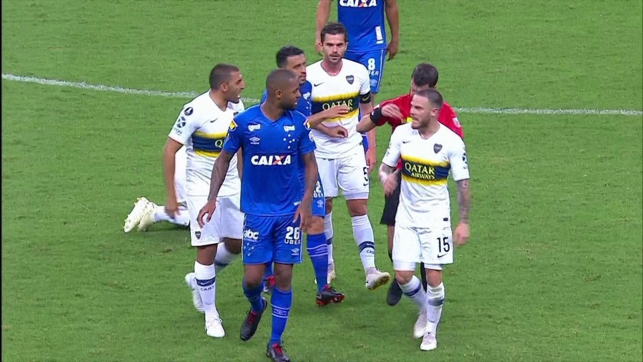 Melhores momentos: Cruzeiro 1 x 1 Boca Juniors pelas quartas de final da Libertadores