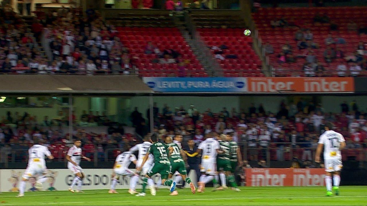 No ano passado, o Palmeiras acabou com jejum de 16 anos contra o São Paulo no Morumbi