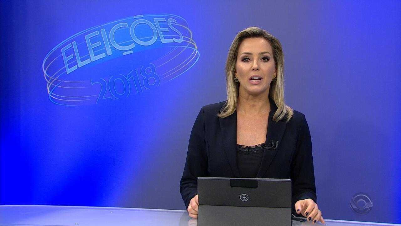 Candidato ao governo do RS, Roberto Robaina (PSOL) votou na tarde deste domingo (7)