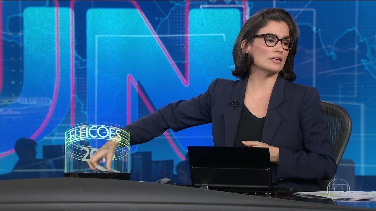 Ordem de entrevistas de Bolsonaro e Haddad ao JN foi decidida, ao vivo, por sorteio