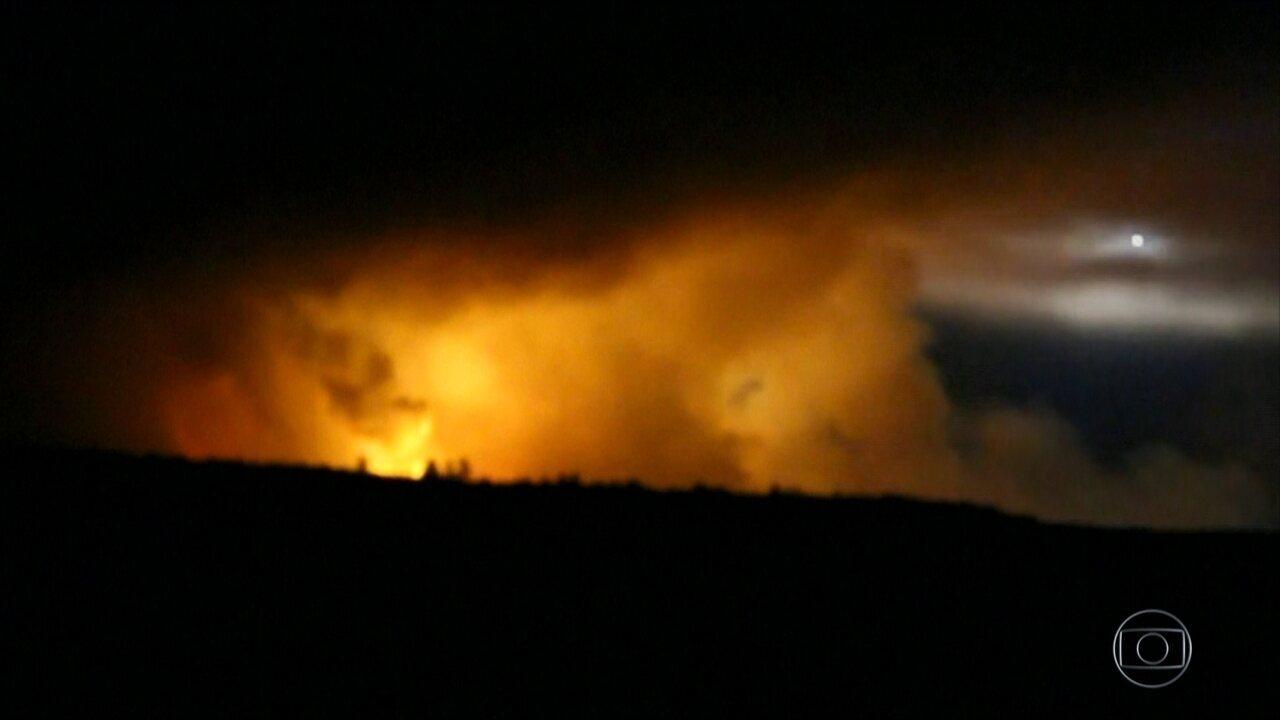 Explosão de paiol na Ucrânia provoca retirada em massa