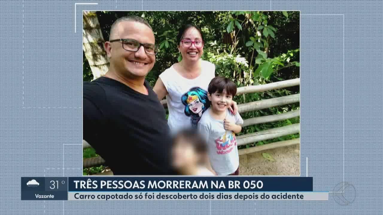 Acidente com família em que criança sobreviveu em MG foi testemunhado