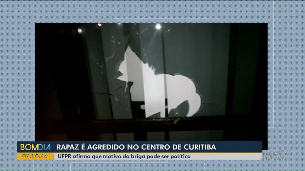 Rapaz fica ferido após confusão perto da Universidade Federal do Paraná