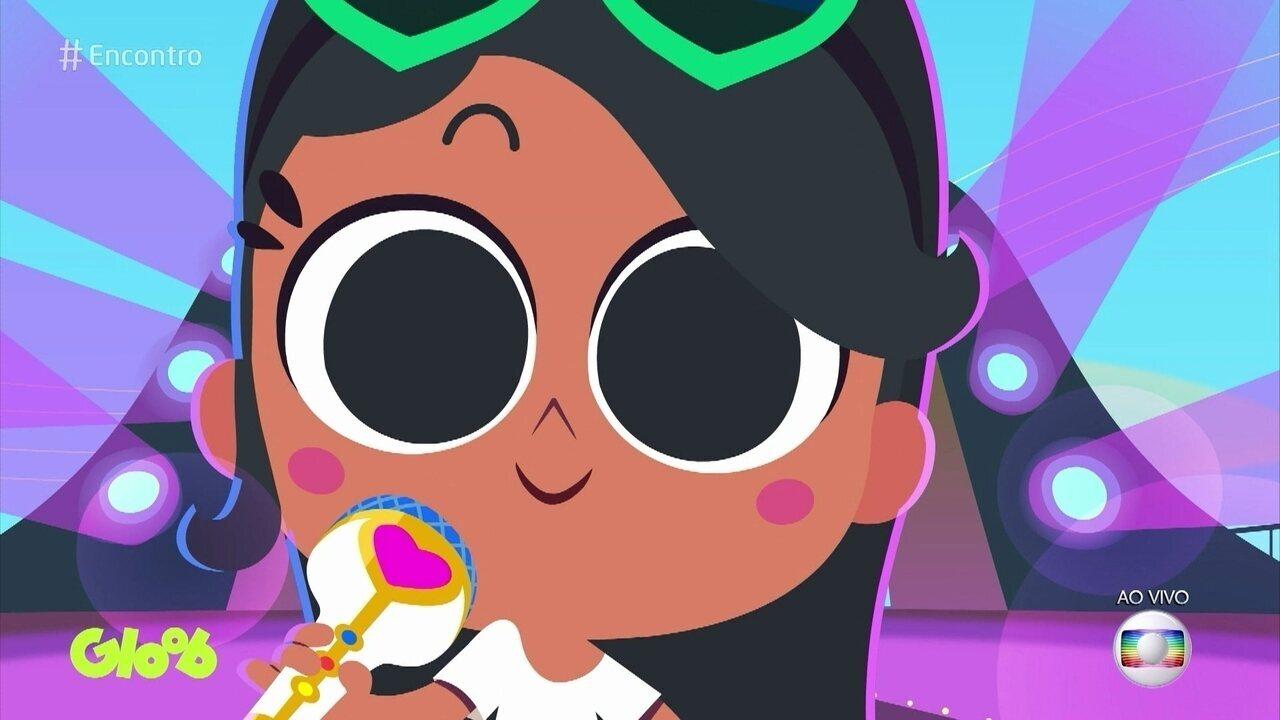 Anitta estreia série de desenhos para crianças