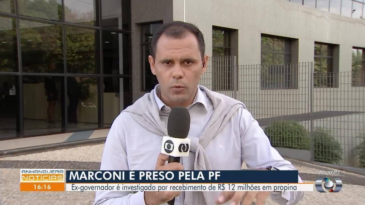 Marconi Perillo é preso suspeito de receber R$ 12 milhões de propina, em Goiás
